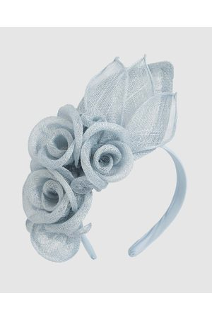 Max Alexander Flower Sinamay Fascinator Headband - Fascinators Flower Sinamay Fascinator Headband