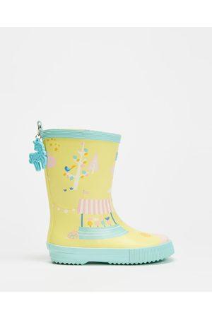 Penny Scallan Women Knee High Boots - Long Gumboots Kids - Boots (Park Life) Long Gumboots - Kids
