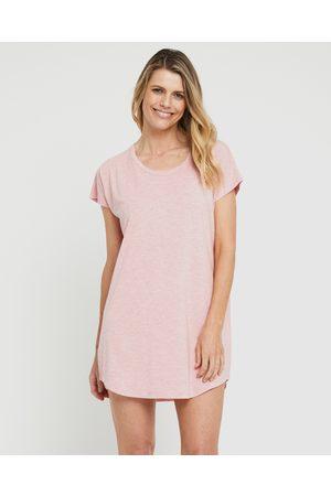 Bamboo Body Women Nightdresses & Shirts - Niah Night Dress - Sleepwear (Rose) Niah Night Dress