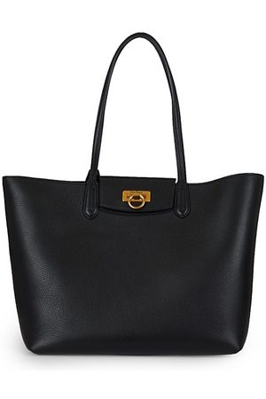 Salvatore Ferragamo Travel Leather Tote