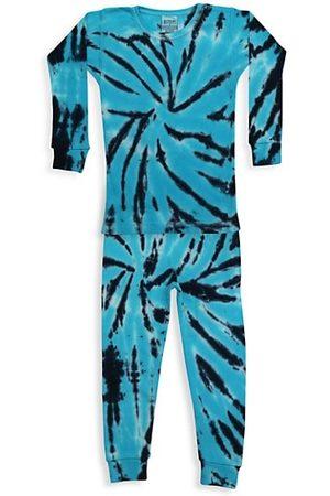 B.Steps by Baby Steps Baby's, Little Boy's & Boy's Joshy 2-Piece Tie-Dye Pajama Set