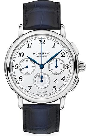 Mont Blanc Star Legacy & Alligator Strap Automatic Chronograph Watch