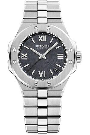 Chopard Alpine Eagle & Grey-Dial Bracelet Watch