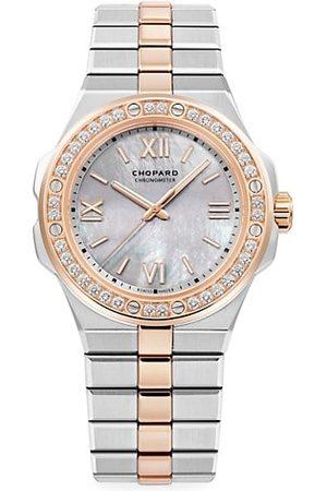 Chopard Alpine Eagle 18K Rose Gold, & Diamond Bracelet Watch