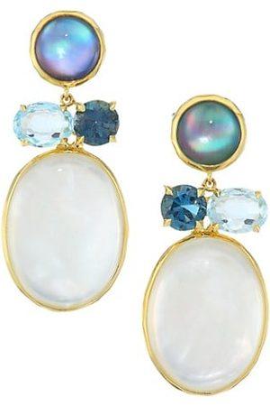Ippolita Rock Candy® 18K Yellow & Multi-Stone Drop Earrings