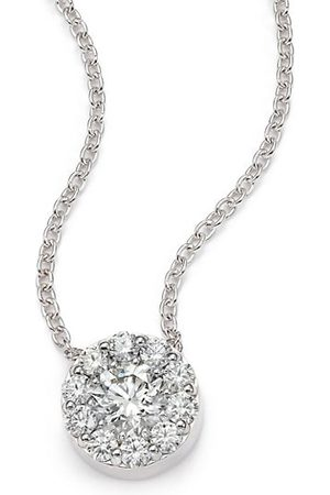 HEARTS ON FIRE Fulfillment Diamond & 18K Pendant Necklace