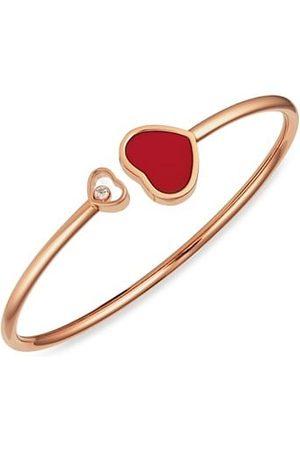 Chopard Bracelets - Happy Hearts 18K , Diamond & Red Stone Bangle