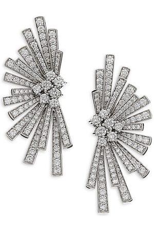HUEB Labyrinth Diamond & 18K Stud Earrings