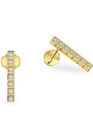 Chopard Ice Cube Diamond & 18K Earrings