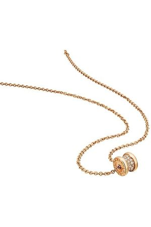Bvlgari Necklaces - B.zero1 18K Yellow & Diamond Pendant Necklace