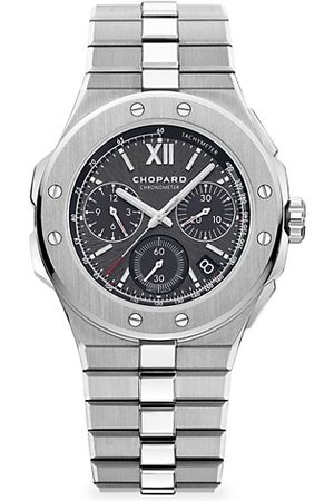 Chopard Alpine Eagle Chronograph & Grey-Dial Bracelet Watch