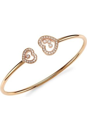 Chopard Happy Diamonds 18K & Diamond Bangle