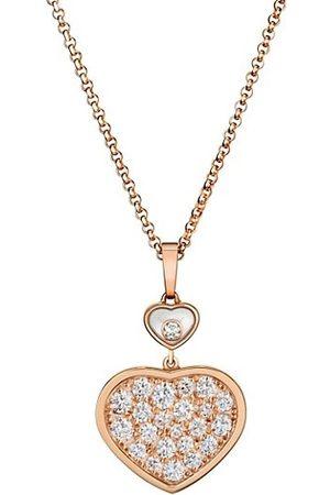 Chopard Necklaces - Happy Hearts 18K & Diamond Pendant Necklace