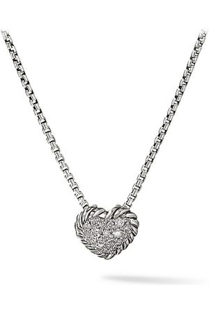 David Yurman Châtelaine® Heart Pendant with Diamonds on Chain