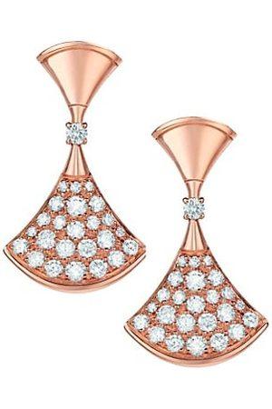 Bvlgari Divas' Dream 18K & Diamond Earrings
