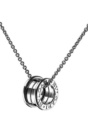 Bvlgari B.zero1 18K White Gold Small Pendant Necklace