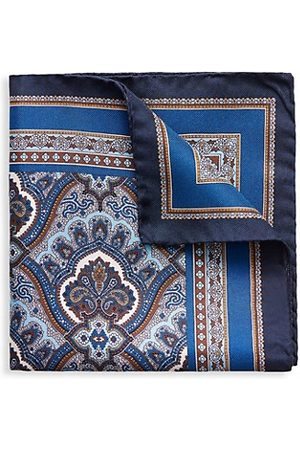 Eton Men Pocket Squares - Paisley Silk Pocket Square