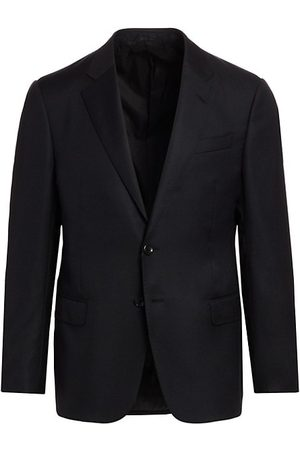 Armani Single-Breasted Wool Blazer