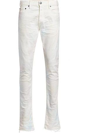 JOHN ELLIOTT The Cast 2 Skittles Raw Hem Slim-Fit Jeans