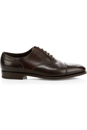 JOHN LOBB Hartland Classic Leather Oxfords