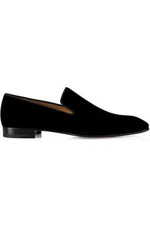 Christian Louboutin Men Loafers - Dandelion Velvet Flats