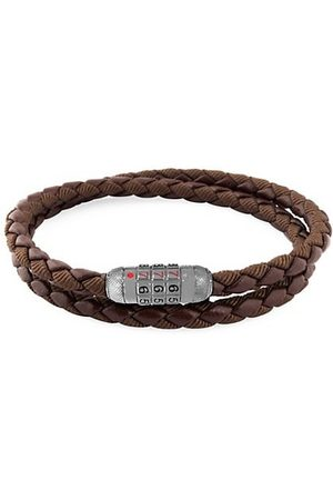 Tateossian Combo Scoubidou Braided Wrap Combination Bracelet