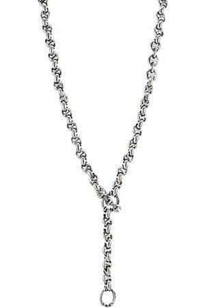 Hoorsenbuhs Open-Link 10MM Sterling & Diamond Necklace