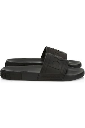 Dolce & Gabbana Saint Barth Rubber Slide Sandals