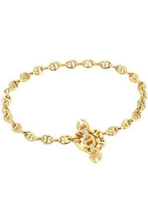 Hoorsenbuhs Open-Link 18K Yellow & Diamond Bracelet/3MM