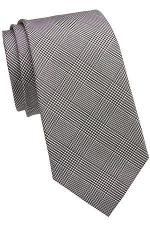 Ralph Lauren Prince Of Wales Check Silk Tie