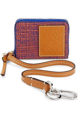 Loewe Two-Tone Wallet on Strap