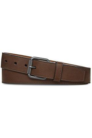 SHINOLA Men Belts - Mack Smooth Leather Belt