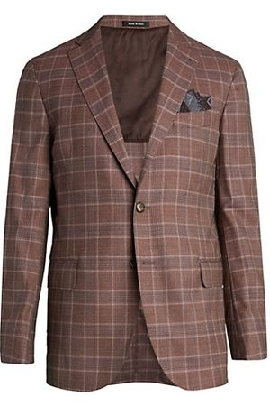 Saks Fifth Avenue COLLECTION Glen Plaid Sportcoat