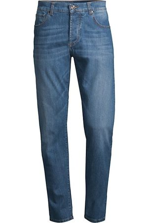 adidas Mid-Rise Washed Jeans