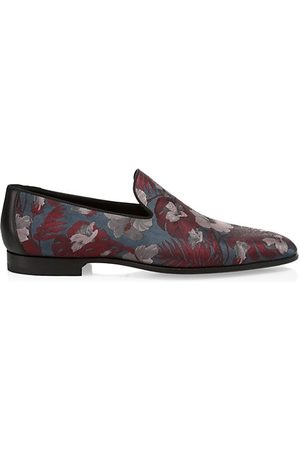 Saks Fifth Avenue Floral Forma Loafers