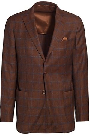 Saks Fifth Avenue COLLECTION Shadow Windowpane Sportcoat