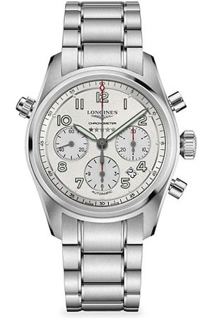 Longines Spirit Stainless Steel Chronograph Bracelet Watch