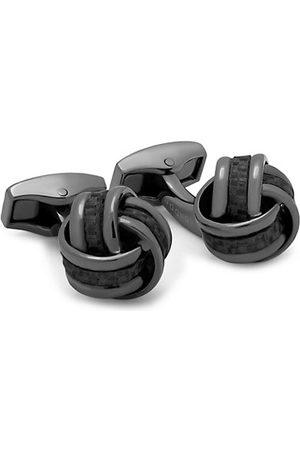 Tateossian Gunmetal Knot Cufflinks