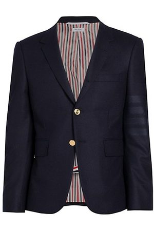 Thom Browne Classic Double Breasted Wool-Cashmere Sportcoat