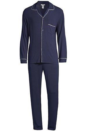 Eberjey William 2-Piece Piped Pajama Set