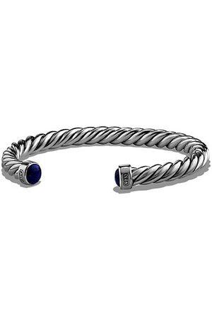 David Yurman The Cable Lapis Lazuli & Sterling Cuff Bracelet