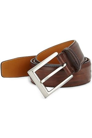 Saks Fifth Avenue COLLECTION BY MAGNANNI Leather Buckle Belt