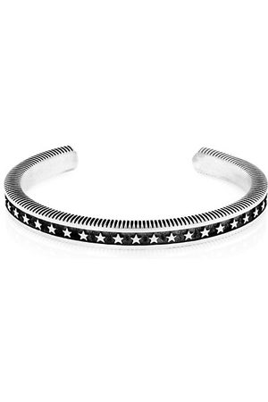 King Baby Studio Sterling Coin Edge Cuff Bracelet