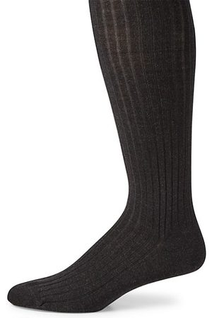 Marcoliani Ribbed Merino Wool Blend Socks