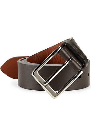 SHINOLA Lightning Leather Belt