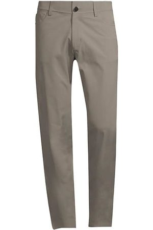 THEORY Tech Raffi Straight-Fit Stretch Pants