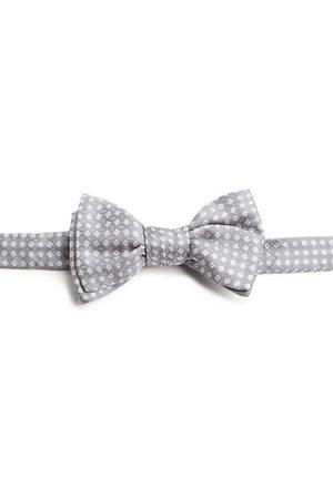 Charvet Neat Square Silk Bow Tie
