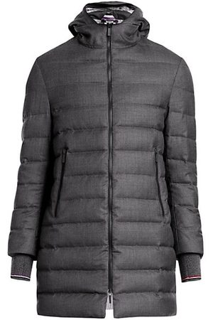 Thom Browne Hooded Down Puffer Ski Coat