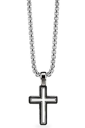 David Yurman Roman Cross Enhancer Sterling Silver Pendant