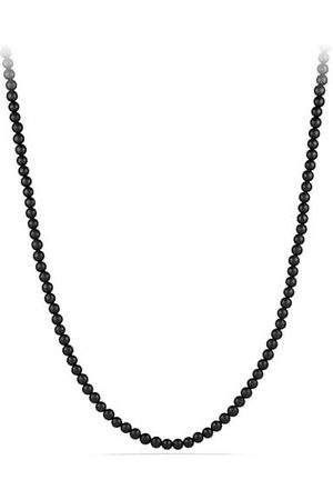 David Yurman Spiritual Bead Onyx Necklace